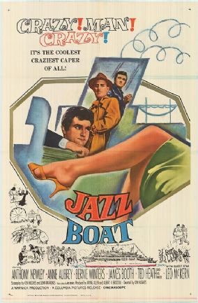 Jazz Boat 1960 DVD - Anthony Newley / Anne Aubrey